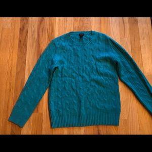 J Crew size 10 cashmere sweater